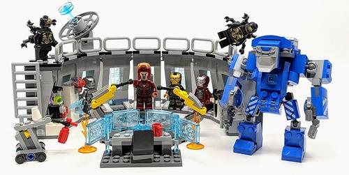lego base de iron man  avengers end game compatible lego