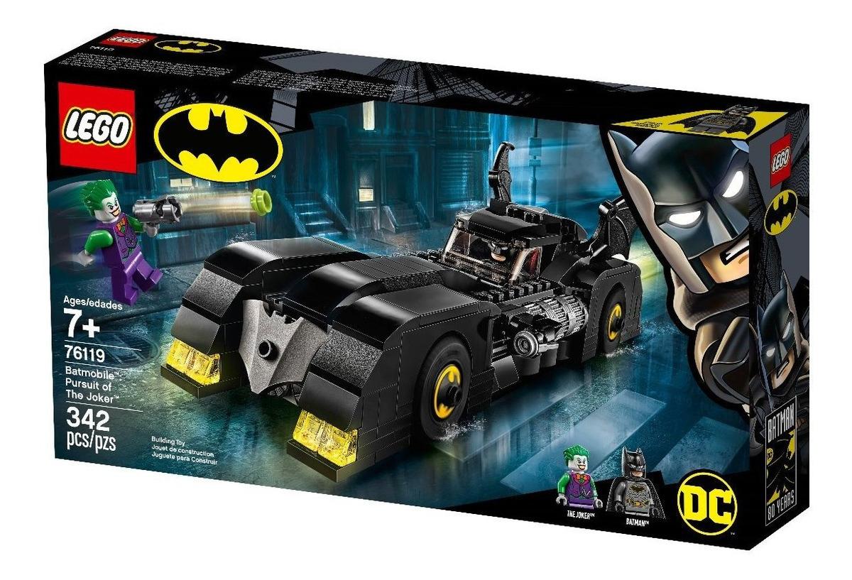 Lego Batimovil Tim Burton 80aniversario 342pzs Caja Maltrata