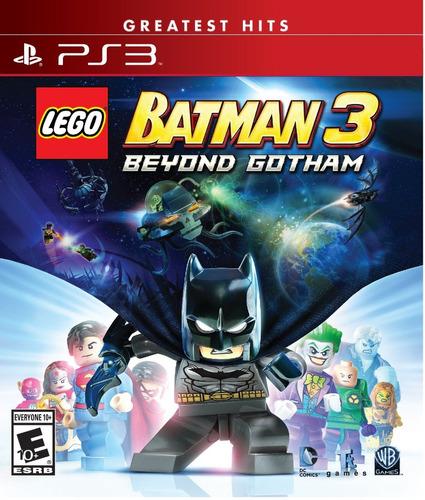 lego batman 3: beyond gotham ps3  fisico jazz pc