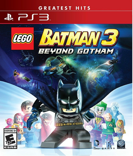 lego batman 3: beyond gotham ps3 nuevo y sellado