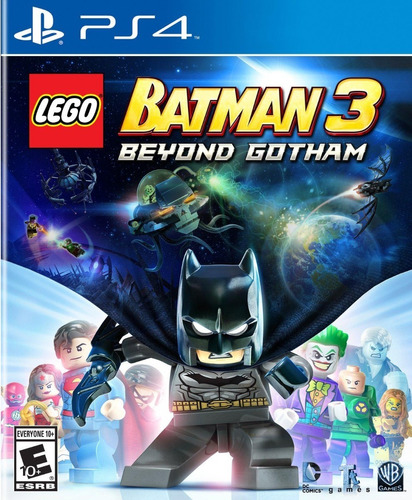 lego batman 3: beyond gotham ps4 - juego físico - prophone