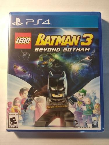 lego batman 3 beyond gotham ps4 juego fisico sellado