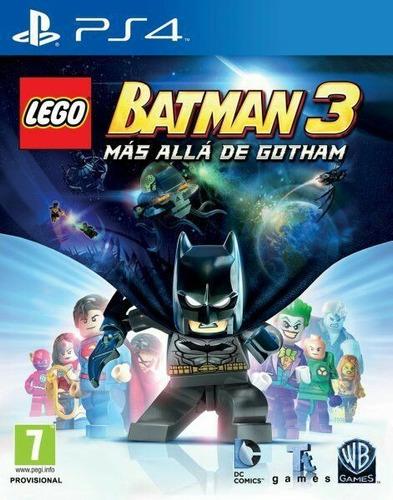 lego batman 3 beyong gotham playstation 4 ps4 digital