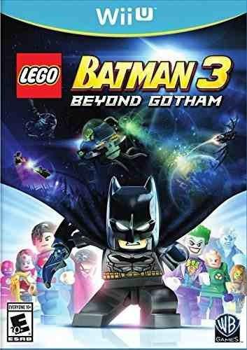 lego batman 3: más allá de gotham - wii u