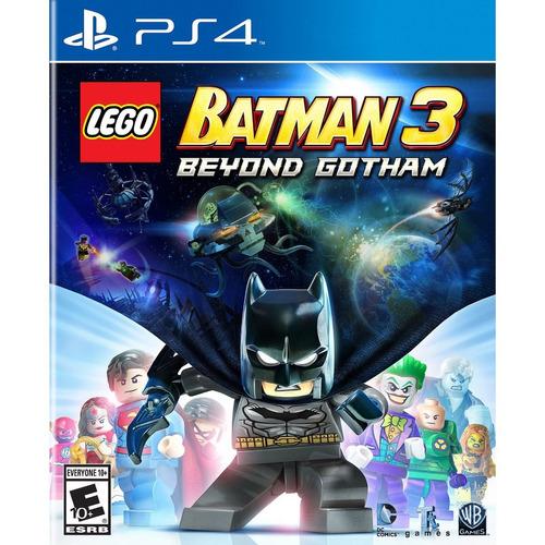 lego batman 3  ps4 fisico sellado nuevo original