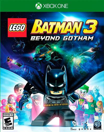 lego batman 3 xbox one nuevo original domicilio