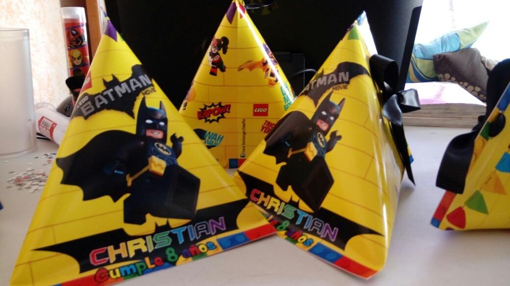 Lego Batman Dulceros E Invitaciones
