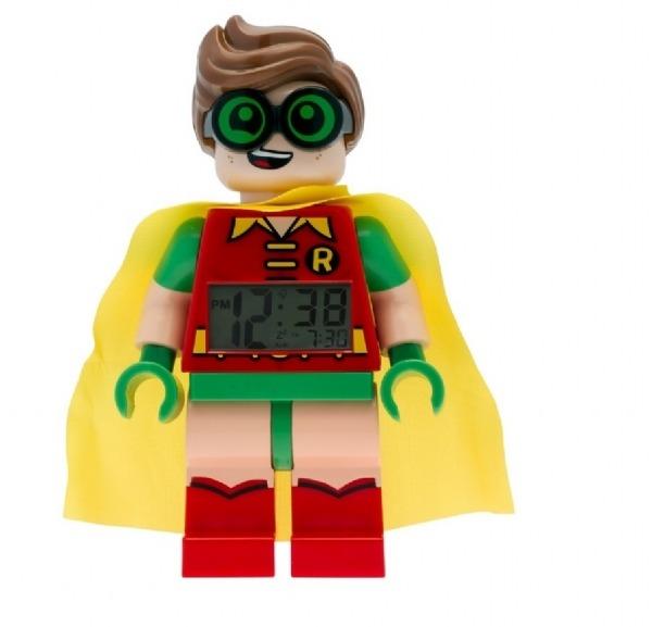 e66e0a5db39 Lego Batman Figure Alarm Clock Robin Relógio Original