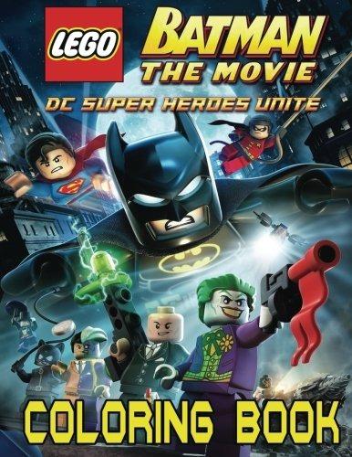 Lego Batman Libro Para Colorear Para Niños Y Adultos