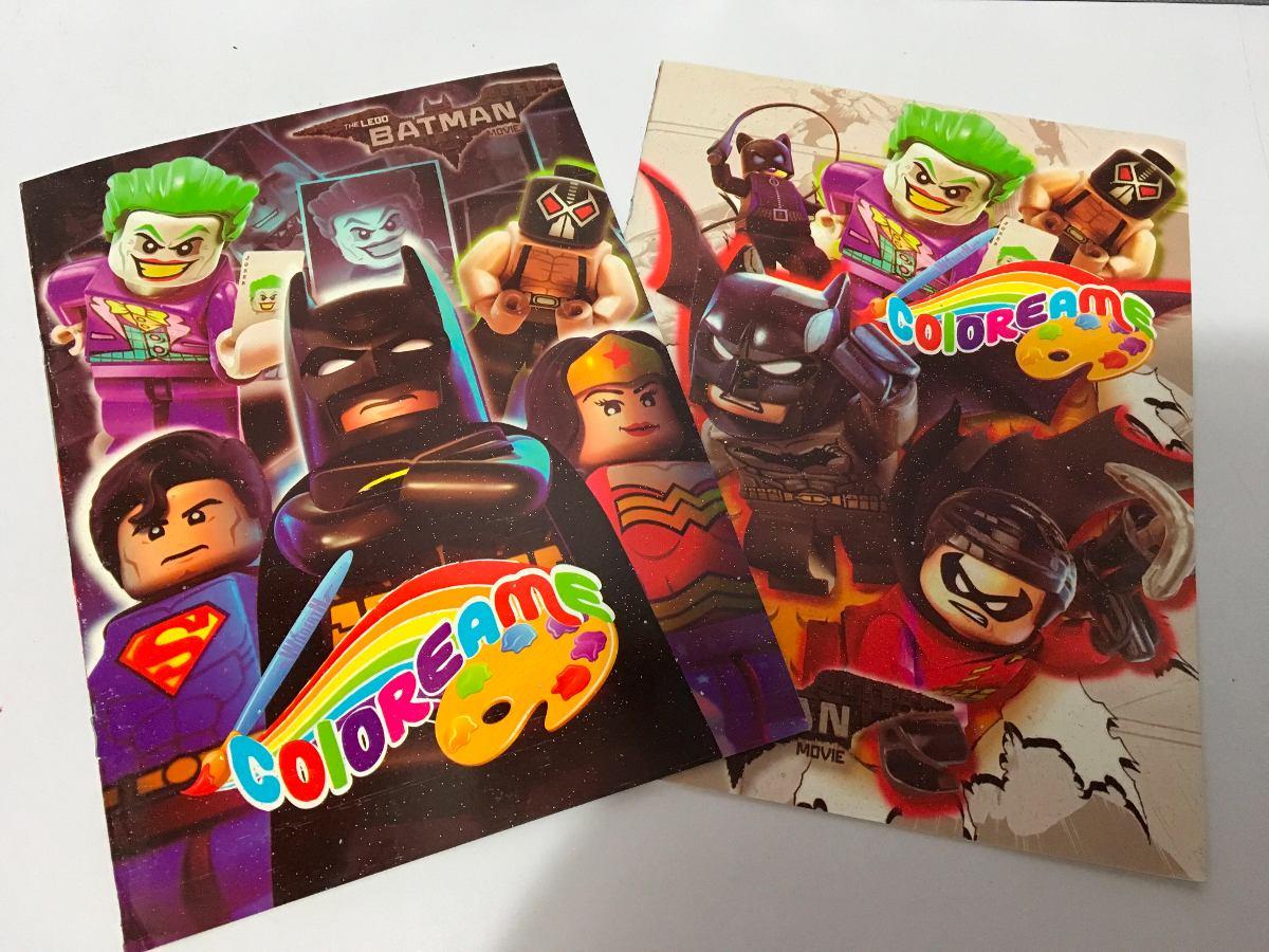 Lego Batman Libros Para Colorear Bolos - $ 9.90 en Mercado Libre