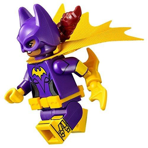 lego batman movie: batgirl minifigure with batarang 2016