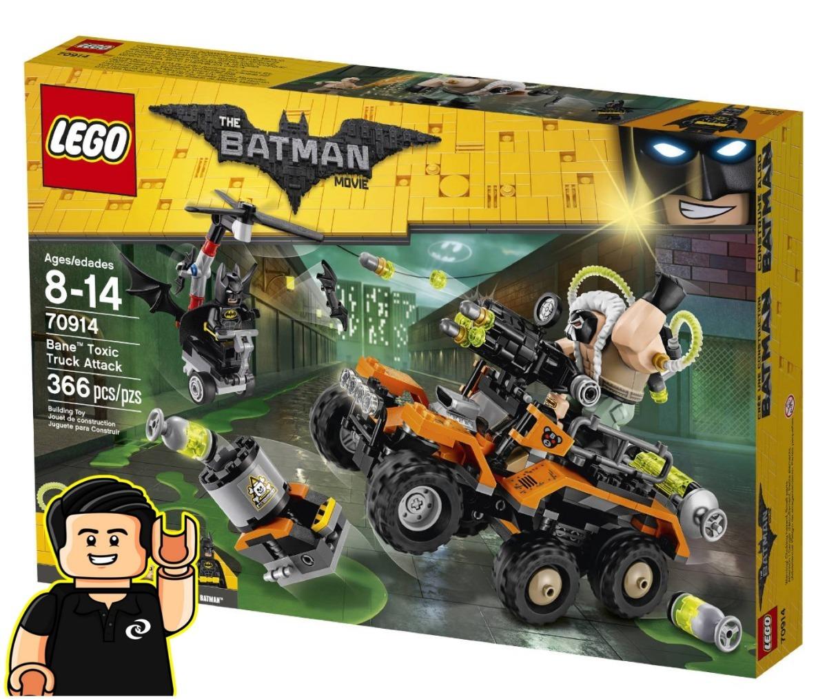 Camion 70914 Set Bane Toxico Batman Movie Lego De 0XNPk8OZnw