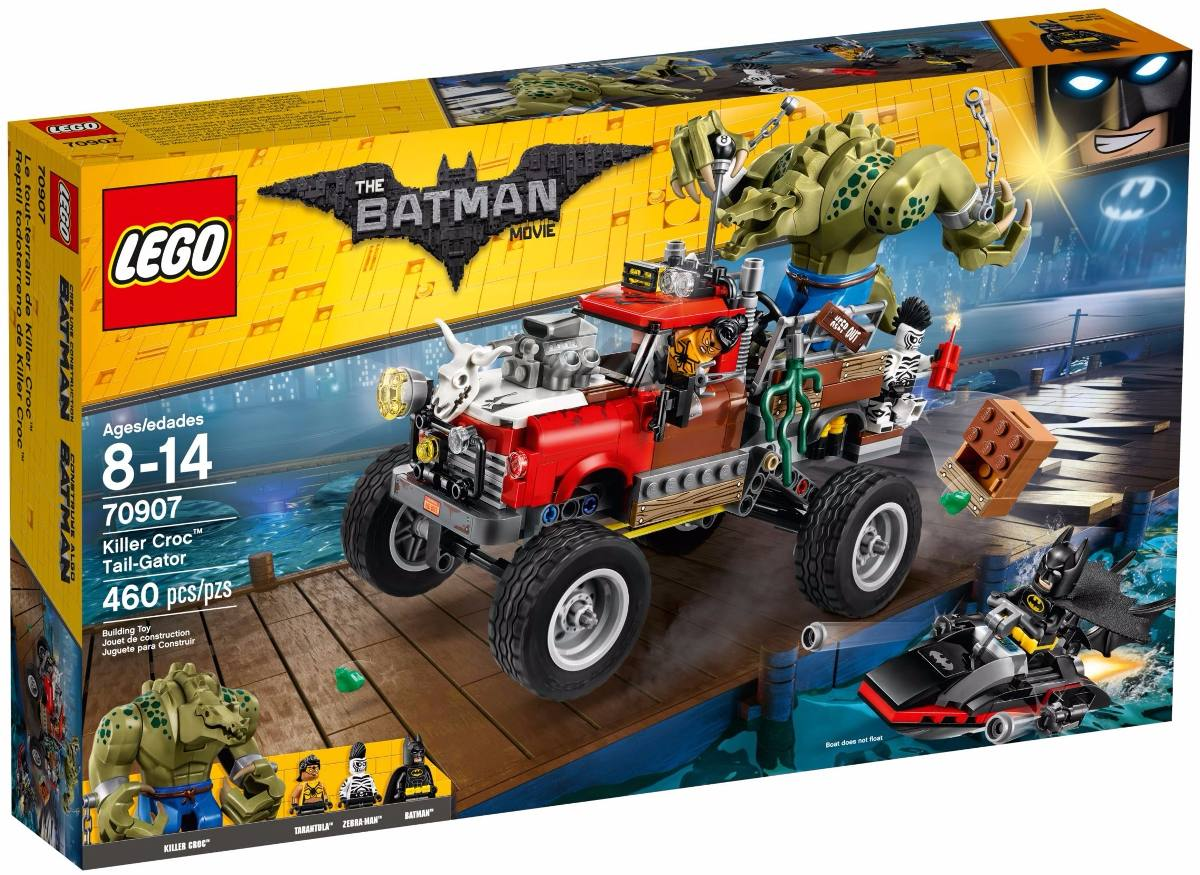 O Movie Carro Reboque 70907 Crocodilo Do Lego Batman De WYeIDH29E