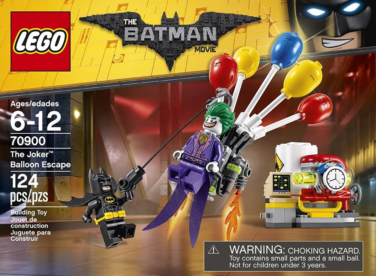 NEW THE JOKER BALLOON ESCAPE  70900-124 pcs LEGO The BATMAN Movie
