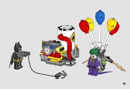 lego batman movie - the joker balloon escape - 70900