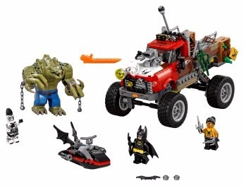lego® batman reptil todoterreno de killer croc (70907)