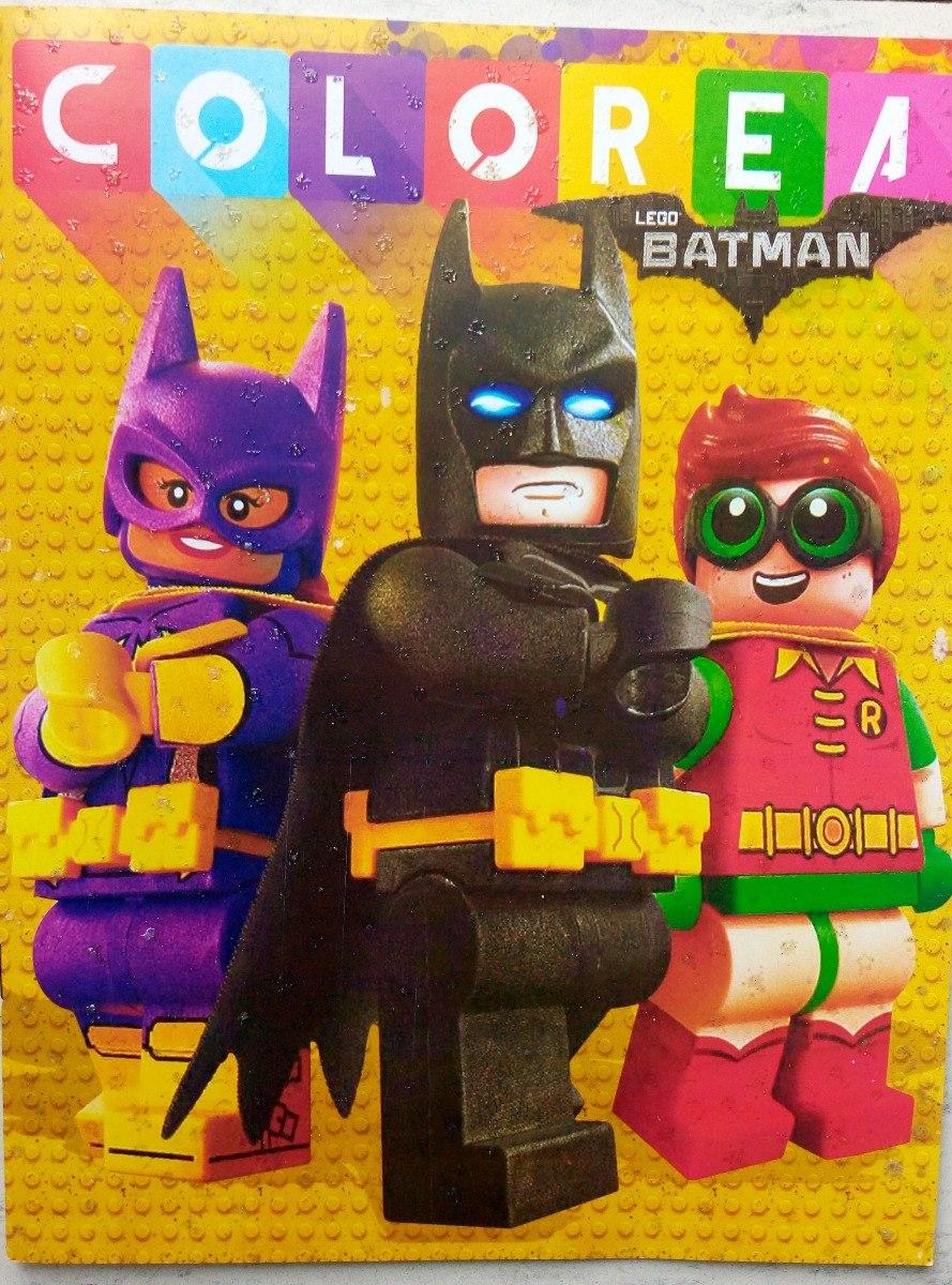 Lego Batman & Robin Paq 6 Libros Iluminar Colorear Legomovie ...