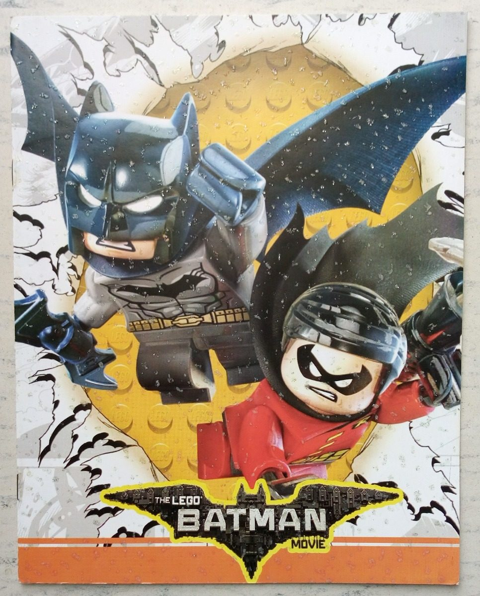 Lego Batman & Robin Set 20 Libros Iluminar Colorear C Envio ...