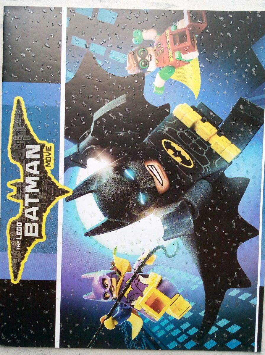 Lego Batman & Robin Set 50 Libros Iluminar Colorear C Envio ...