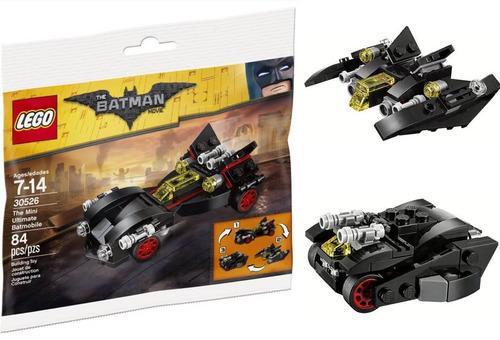 lego batman the mini ultimate batmobile 30526 84 piezas