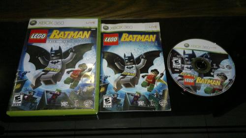 lego batman the video game sin instr para xbox 360,excelente