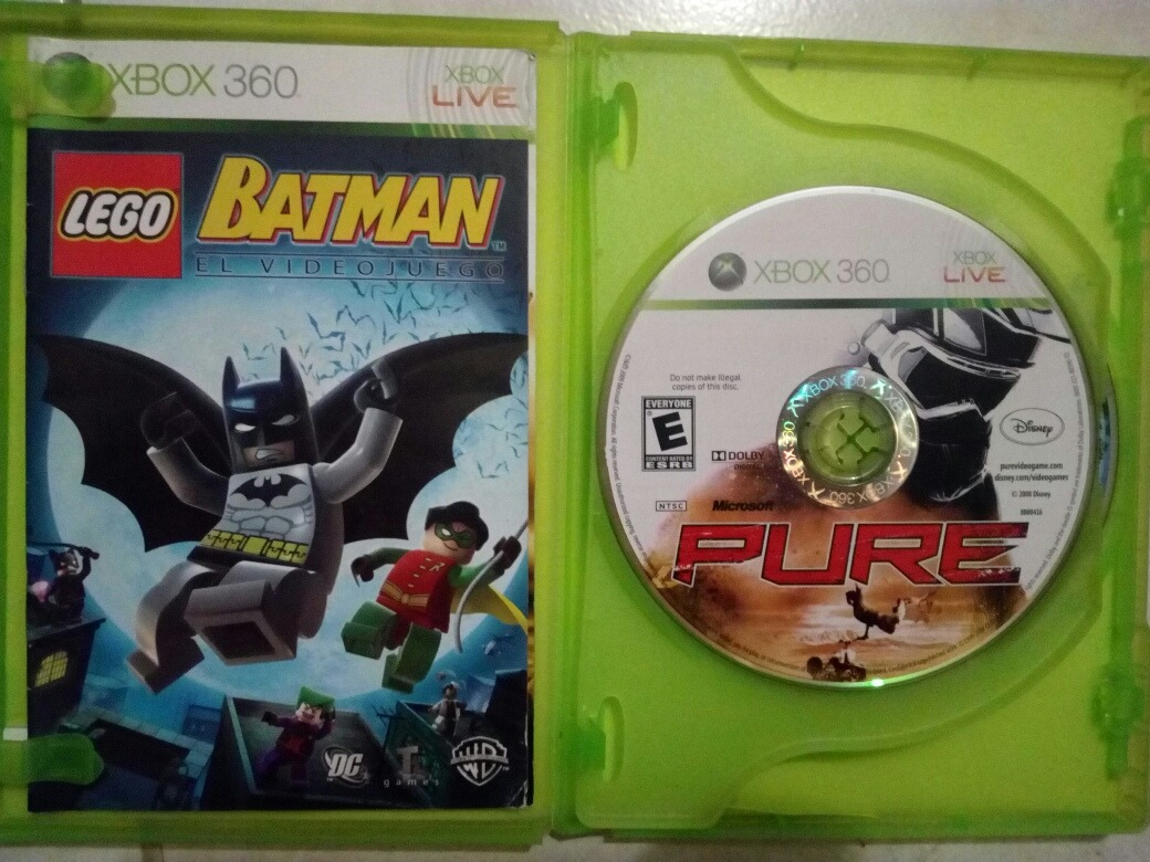 Lego Batman Pure Para Xbox 360 364 00 En Mercado Libre