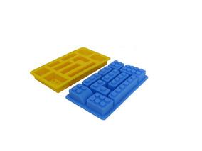 4d7fbfcf5924 Lego Bloques Molde Silicona Bombon Chocolate 10 Cavidades