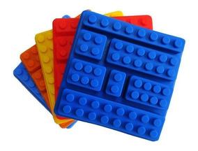 7806fee01d48 Lego Bloques Molde Silicona Bombon Gelatina 7 Cavidades