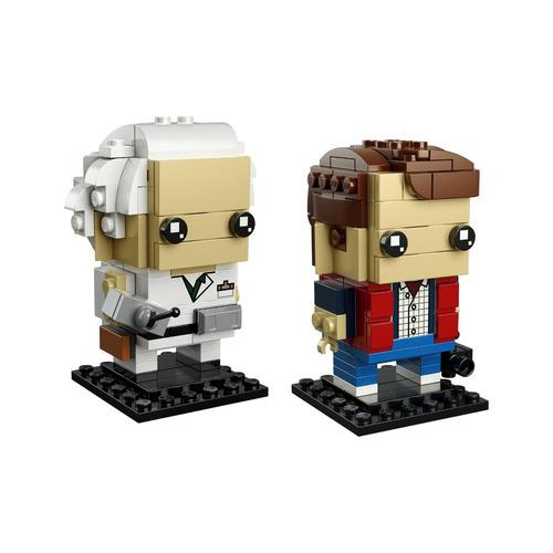lego brickheadz marty mcfly & doc brown