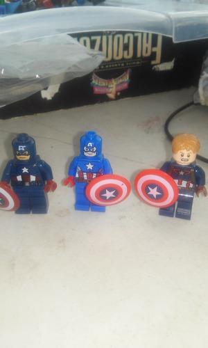 lego capitan america.