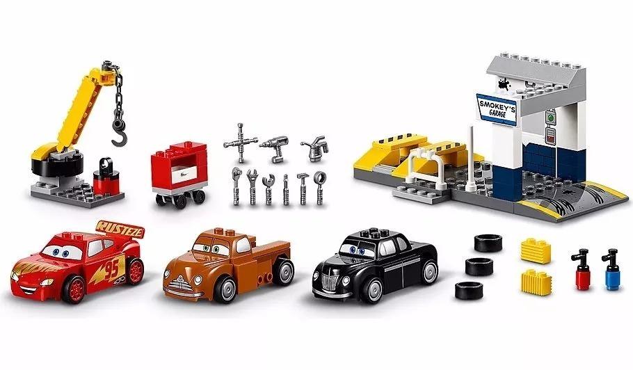 Toys Hobbies Lego Complete Sets Packs Lego Juniors Smokey S Garage 10743 Age 4 7 Building Kit 116 Pcs