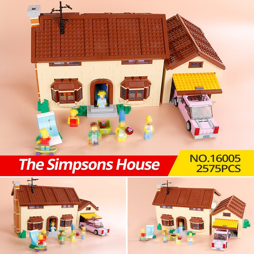 lego casa simpson - lepin imporado oferta