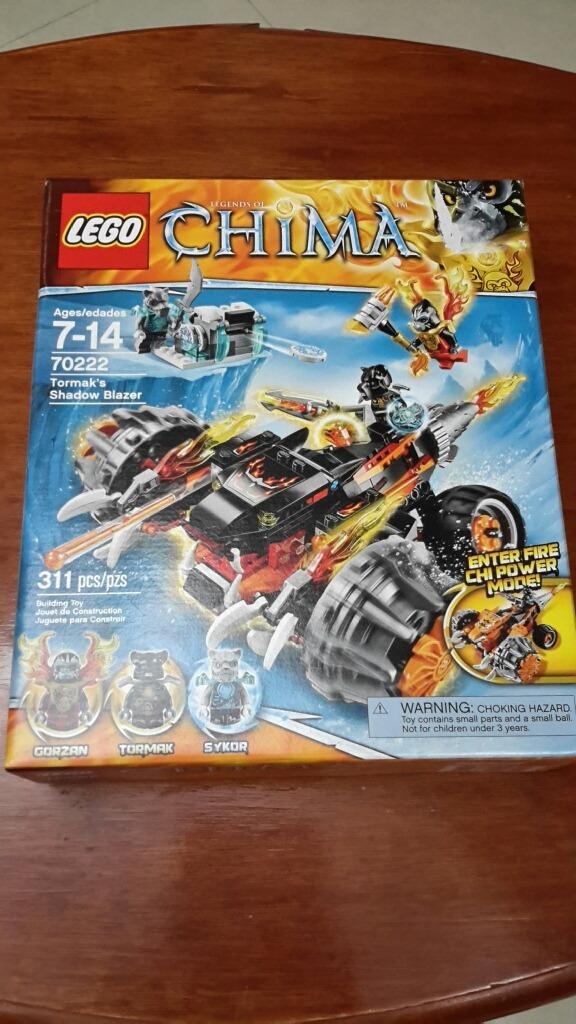 Las El De Tanque 70222 Sombras Lego Tormak Chima N8nwm0