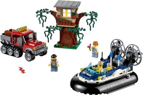 lego city 60071 hovercraft arrest - woopy
