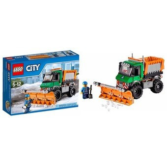 lego city 60083 camion quita nieves