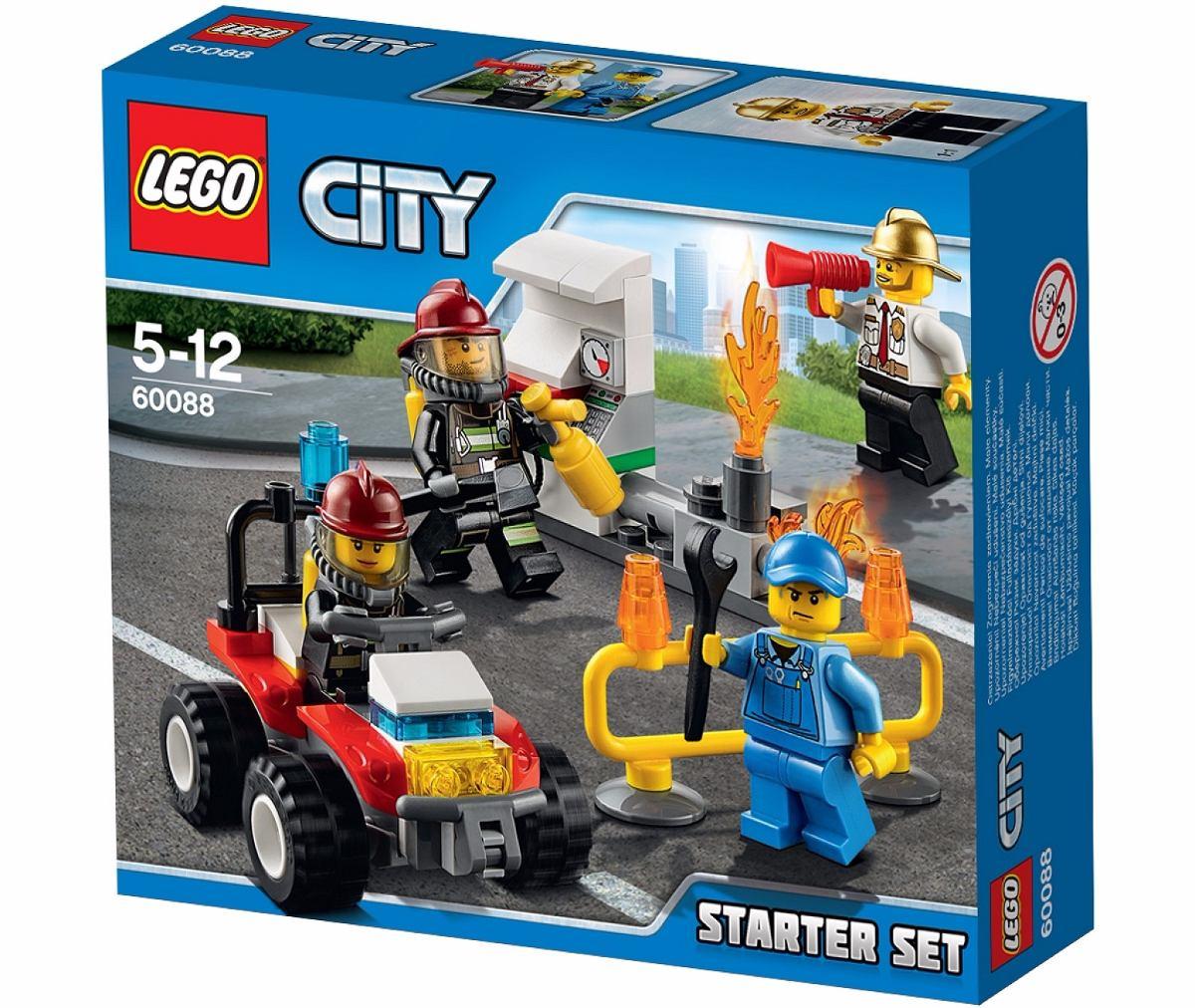 Lego City 60088 Bomberos Fire Starter Set  Mundo Manias   599