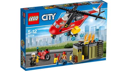 lego city 60108 unidad de rescate