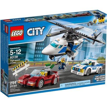 lego city 60138 persecucion autopista helicoptero mundomania