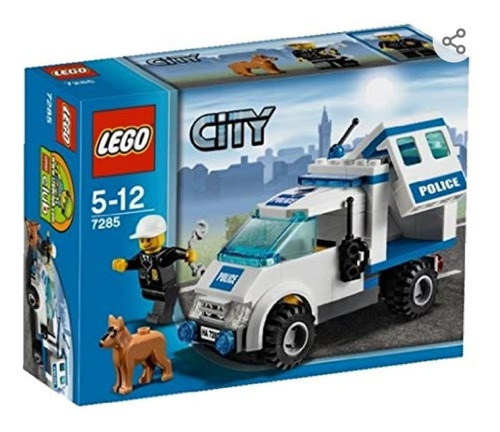 lego city 7285: police dog unit