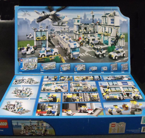 lego city 7744 police headquarters