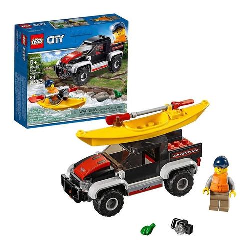 lego ® city - aventura en kayak