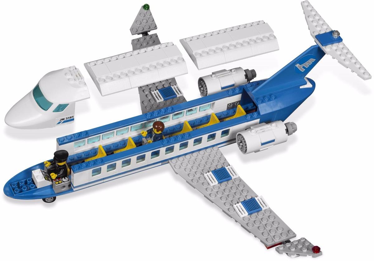 Lego city avion de pasajeros modelo 3181 nuevo y vintage - Avion de chasse en lego ...