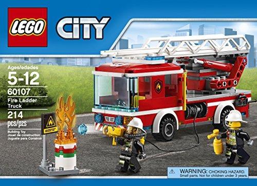 Lego City Bomberos Escalera 60107 157 900 En Mercado Libre