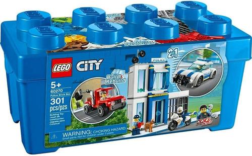 lego city caja ladrillo de 301 fichas 60270 original