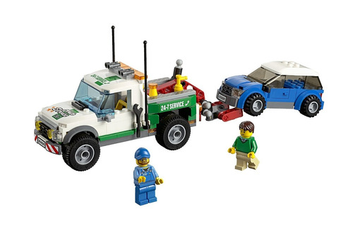 lego city camion grua grea vehicles pickup tow truck:60081