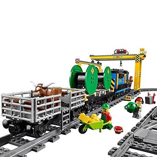 lego city cargo tren 60052 tren juguete