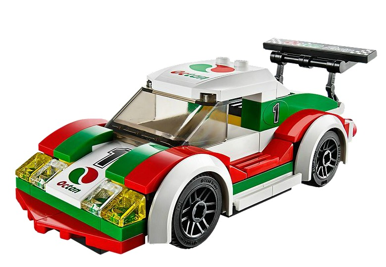 lego city carro de carreras coleccion original 60053 bs en mercado libre. Black Bedroom Furniture Sets. Home Design Ideas