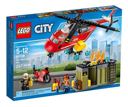 lego city corpo intervencao bombeiros