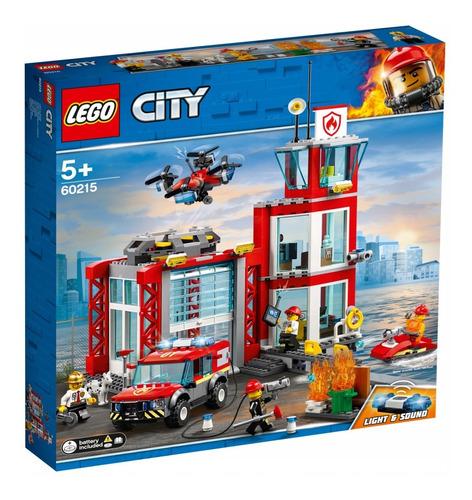 lego ® city - estación de bomberos