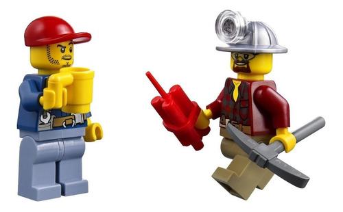 lego city excavator transport modelo 4203